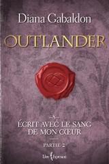 Outlander, Tome 8 : Partie 2 : écrit avec le sang de mon coeur [Poche]