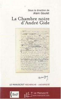 La chambre noire d'André Gide