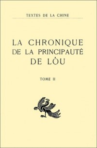 La Chronique de la principauté de Lou, tome 2