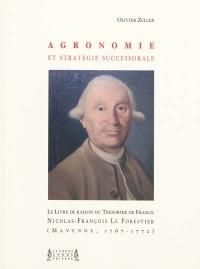Agronomie et stratégie successorale