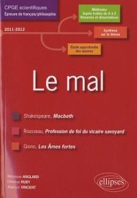 Le mal français prépa scientifique études dissertations (macbeth-profession de foi-ames fortes)