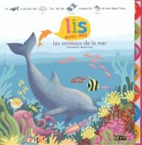 Lis avec moi : les animaux de la mer - 3 ans