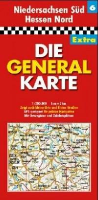 All.6 Niedersachsen Sud/Hessen Nord - 1/200.000