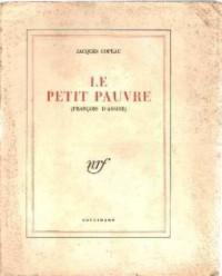 Le Petit Pauvre : François d'Assise