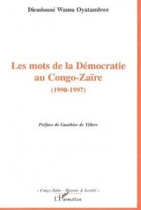 Les mots de la démocratie au Congo-Zaïre (1990-1997)
