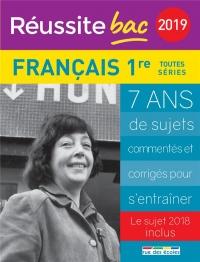 Français 1re toutes séries