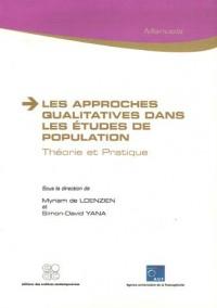 Les approches qualitatives dans les études de population : Théorie et Pratique