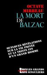 La mort de Balzac
