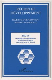 Changements Technologiques Strategie des Firmes et Dev