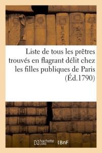 Liste de Tous les Pretres  ed 1790