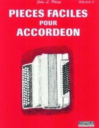 Partition: Accordéon vol. 2 pièces faciles