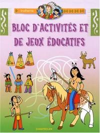 Bloc d'activités et de jeux éducatifs Indiens