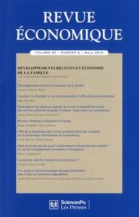 Revue Economique Vol 63 N 2