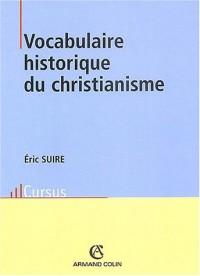 Vocabulaire historique du christianisme