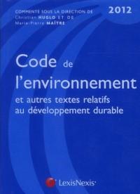 Code de l'Environnement 2012