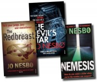 Jo Nesbo, Harry Hole Books 3, 4 and 5 Collection (Redbreast, Nemesis, The Dev...