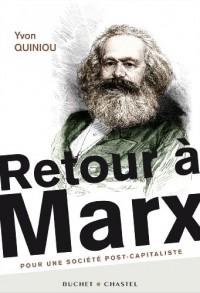 Retour a Marx