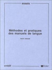 Méthode et pratique des manuels de langue