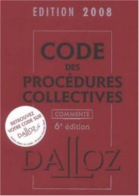 Code des procédures collectives commenté