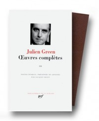 Green : Oeuvres complètes, tome 3