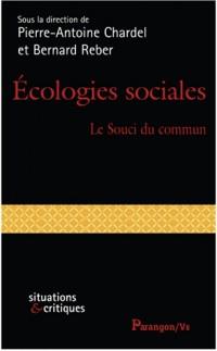 Ecologies sociales : Le souci du commun