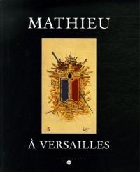 Mathieu à Versailles : Château de Versailles Petite Ecurie 5 mai - 2 juillet 2006