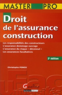Mementos lmd-droit de l'assurance construction,deuxième édition