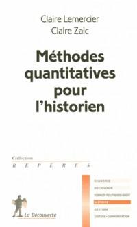guide des méthodes quantitatives pour l'historien