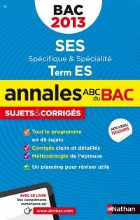 Annales bac 2013 ses t es obli + spi corriges n14