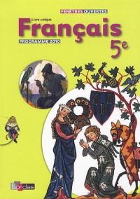 Français 5e : Petit format, programme 2010