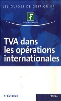 TVA dans les opérations internationales