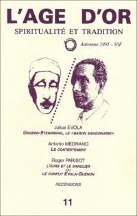 N.11 l'Age d'Or : Spiritualité et Tradition - Automne 1995