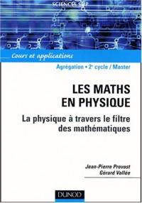 Les maths en physique : La physique à travers le filtre des mathématiques