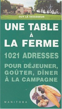 Une table à la ferme