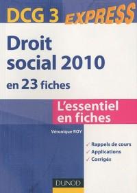 Droit social 2010 DCG 3