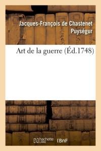 Art de la Guerre  ed 1748