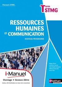 Rh et Communicat Term Stmg  (Parcours Stmg)  Licence Numerique Eleve  I-Manuel+Ouvrage Papier