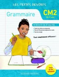 Grammaire CM2 les petits devoirs