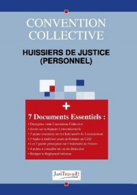 3037. Huissiers de justice (personnel) Convention collective