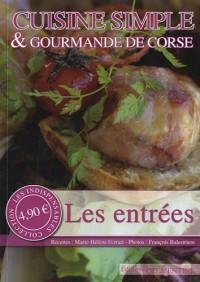 Cuisine simple & gourmande de Corse : Les entrées