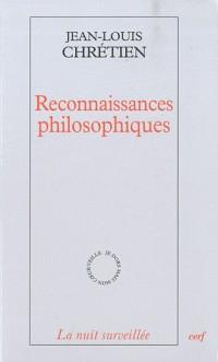 Reconnaissance philosophiques