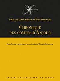 Chronique des comtes d'Anjou