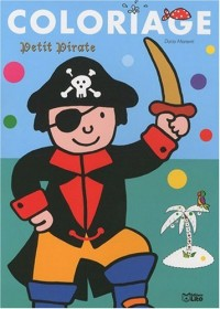 Coloriage petit pirate