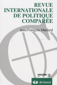 Revue Int. Politique Comparée 06/4-Vol13 Jean-François Medard