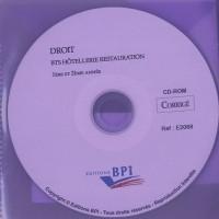 Droit BTS Hôtellerie restauration 1e et 2e année, corrigé : CD-Rom