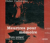 Meurtres pour Mémoire /4 CD