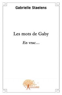 Les mots de Gaby
