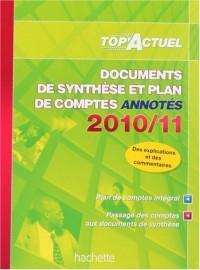Documents de synthèse et plan des comptes annotés