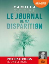 Le Journal de ma disparition: Livre audio 2 CD MP3
