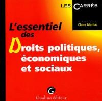 L'essentiel des droits politiques, économiques et sociaux